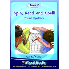 Phonic Books - Spin Read & Spell Book 2