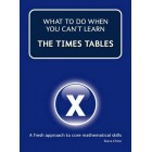 What to do when you cant learn the: Times Tables