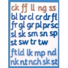 Magnetic foam letters for spelling (stage two)